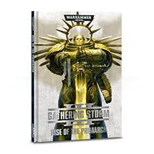 WARHAMMER GATHERING STORM RISE OF THE PRIMARCH RULE BOOK
