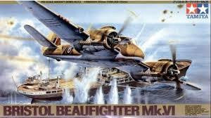 TAMIYA 1/48 BRISTOL BEAUFIGHTER
