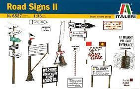 ITALERI 1/35 ROAD SIGNS 2