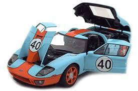 AUTO ART 1/18 DIECAST FORD GT40