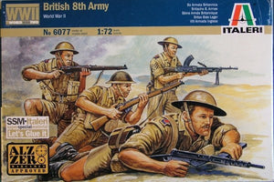 ITALERI 1/72 BRITISH 8TH ARMY