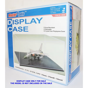 TRUMPETER CLEAR PLASTIC DISPLAY CASE FOR 1/48 1/35 1/18
