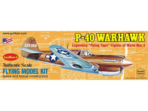 GUILLOWS BALSA P-40 WARHAWK