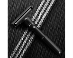 Safety Razor-Luxury Black Adjustable