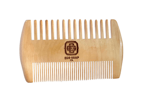 Wood Beard Comb - Double Sided