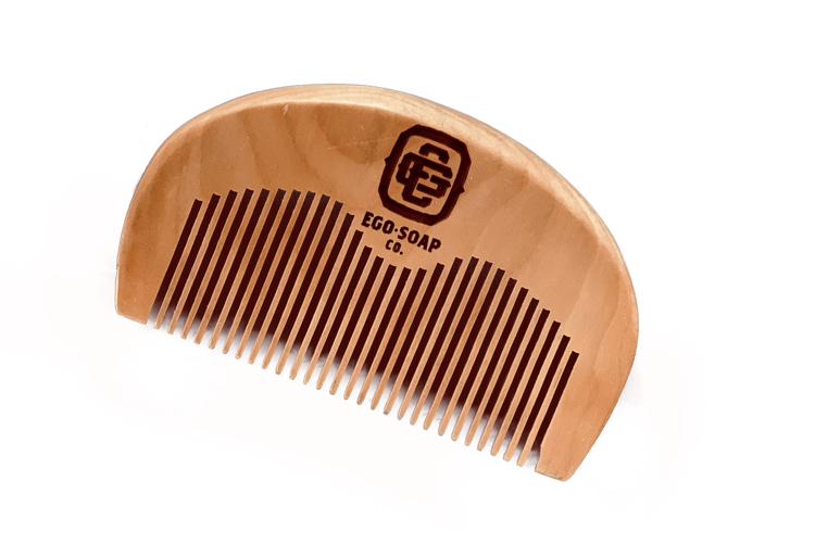 Wood  Beard  Comb