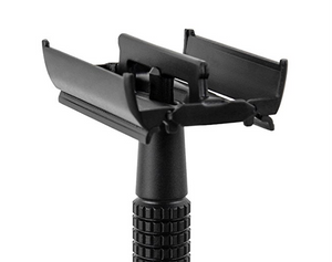 Safety Razor-Matte Black Steel Coated