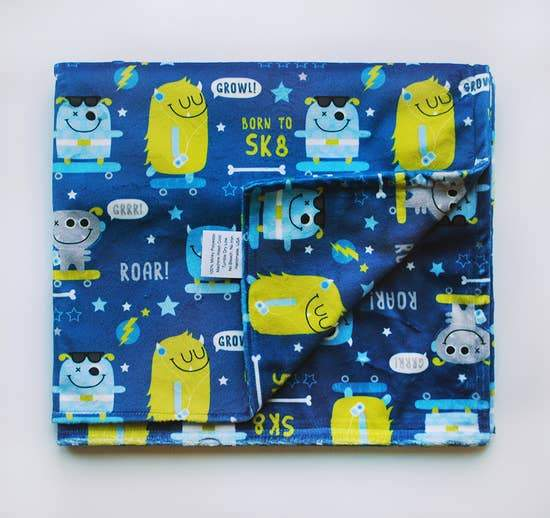 Monster Double Minky Baby Blanket