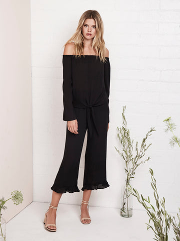 Naya Crop Wide Leg Pant
