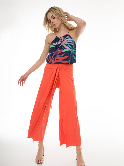 Miah Crop Wrap Pant