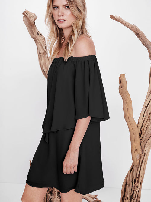 Reese Off Shoulder Mini Dress