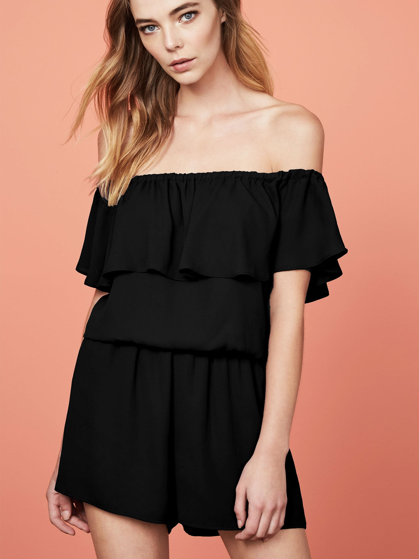 Adren Off Shoulder Romper