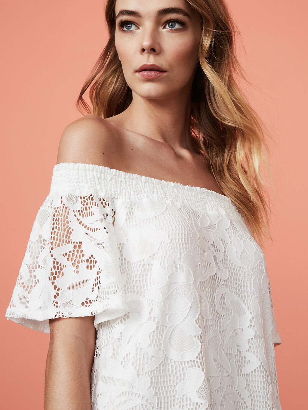 Ady Off Shoulder Mini