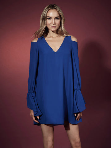 Lara Cutout Caftan Mini