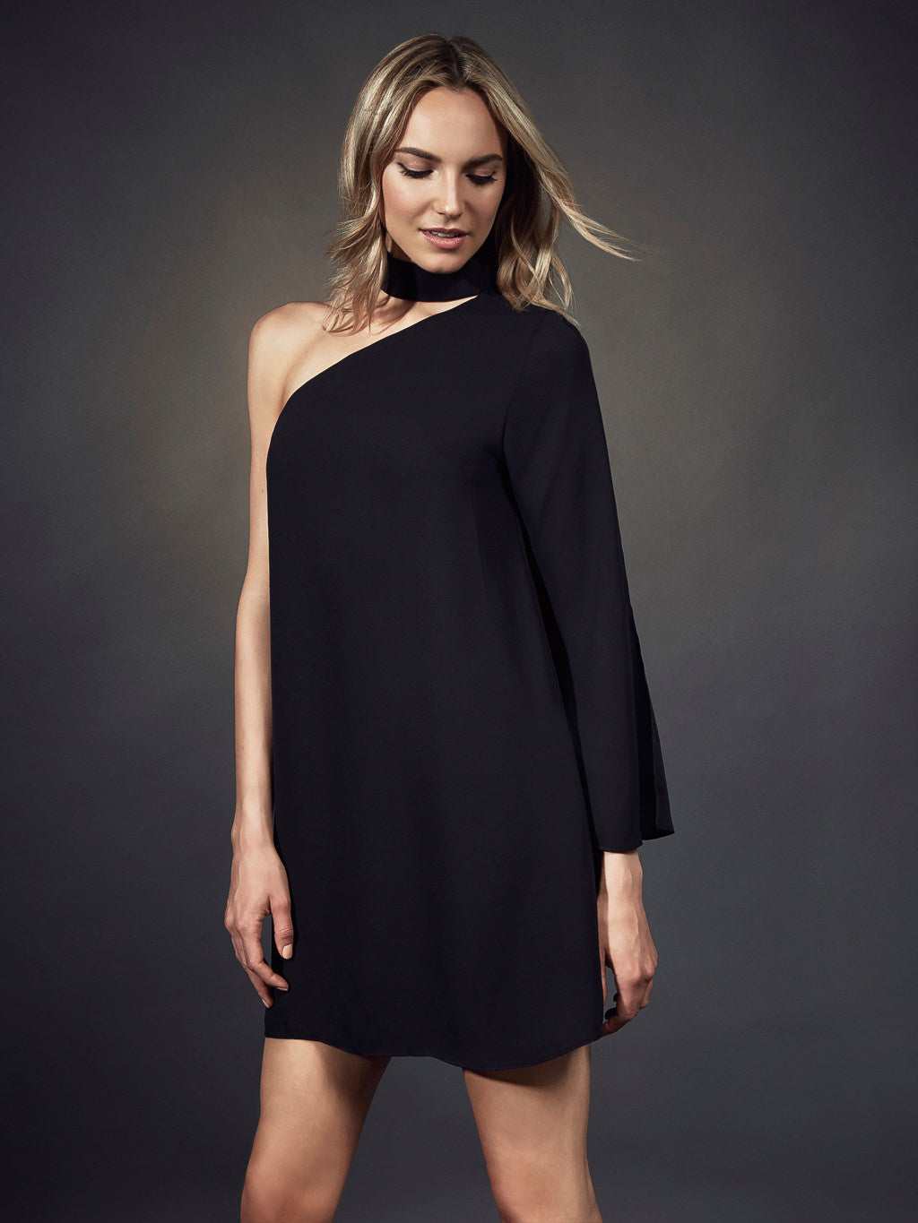 Ally Slit Sleeve Mini
