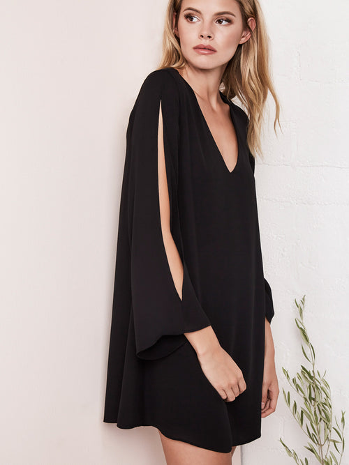 Robin Slit Long Sleeve Mini