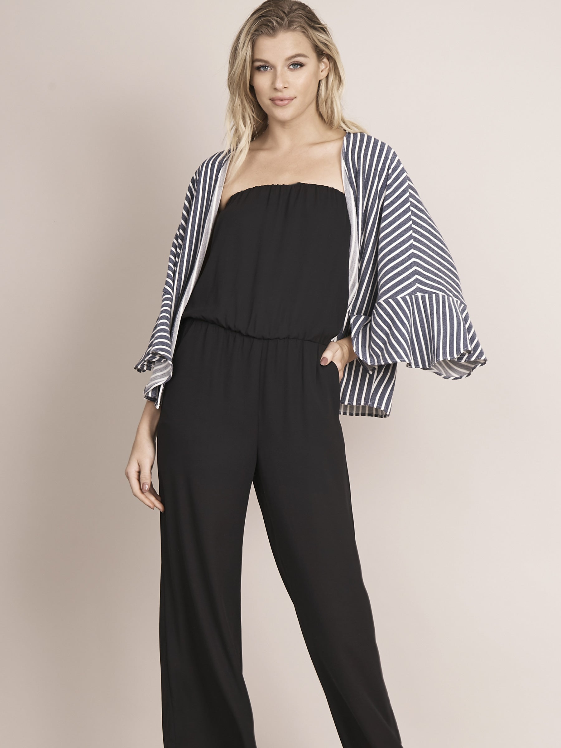 Liliana Strapless  Jumpsuit
