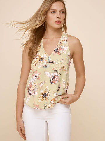 Tiana Cutout 3/4 Sleeve Top