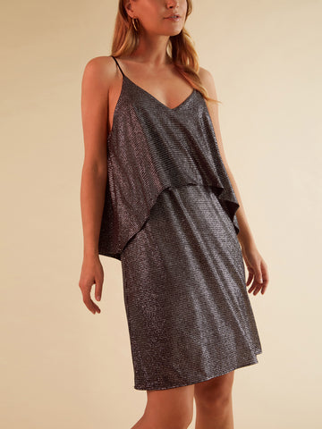 Ivey One Shoulder  Mini
