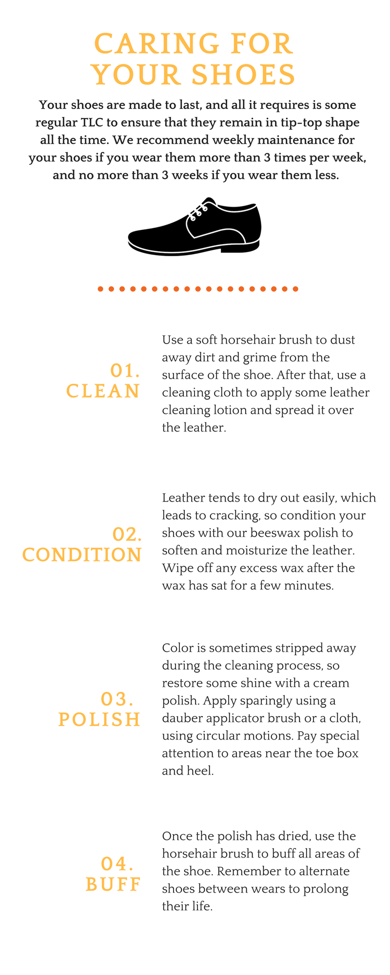 Caring for your Leather Shoes