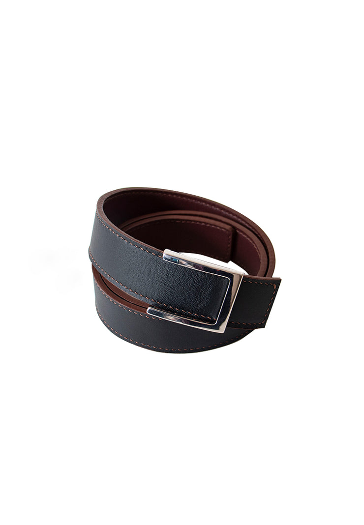 Reverso Belt (Black/Maroon)