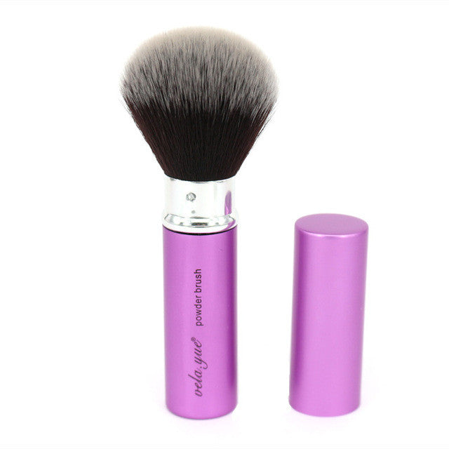 Retractable Powder /Blush /Foundation Makeup Brushes