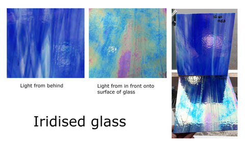 Iridised Glass