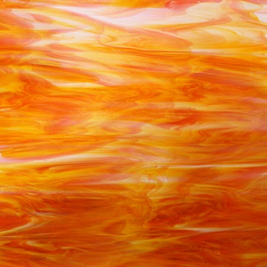 White/Orange Opal 300square