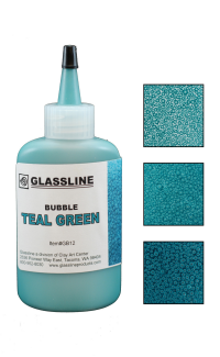 Glassline Bubble Pen - Teal Green 60ml
