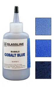 Glassline Bubble Pen - Colbalt Blue 60ml