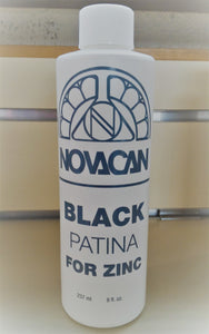 Black Patina for Zinc Novacan