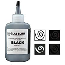 Glassline Paint Pen - Black 60ml
