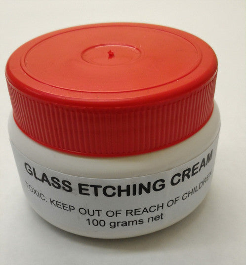 glass etching cream supplies hobby