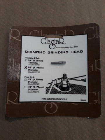 Glastar Diamond Grinding Heads Various Sizes