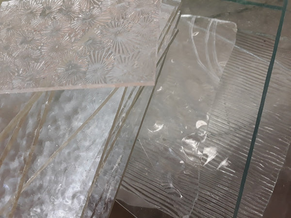 Clear Glass off-cuts 500g