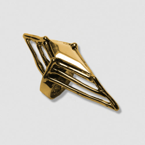 Argyle Ring - Gold plate Bronze