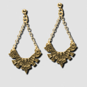 Maya Earrings - Bronze