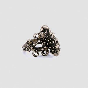 Medium Penacho ring - White Bronze