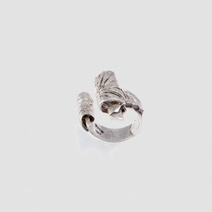 Written paper ring - Sterling Silver
