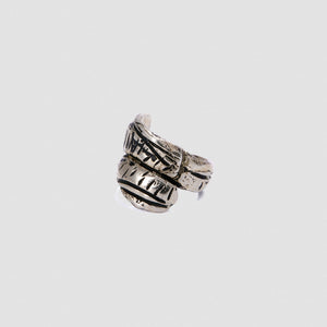 Pinky ring - White Bronze