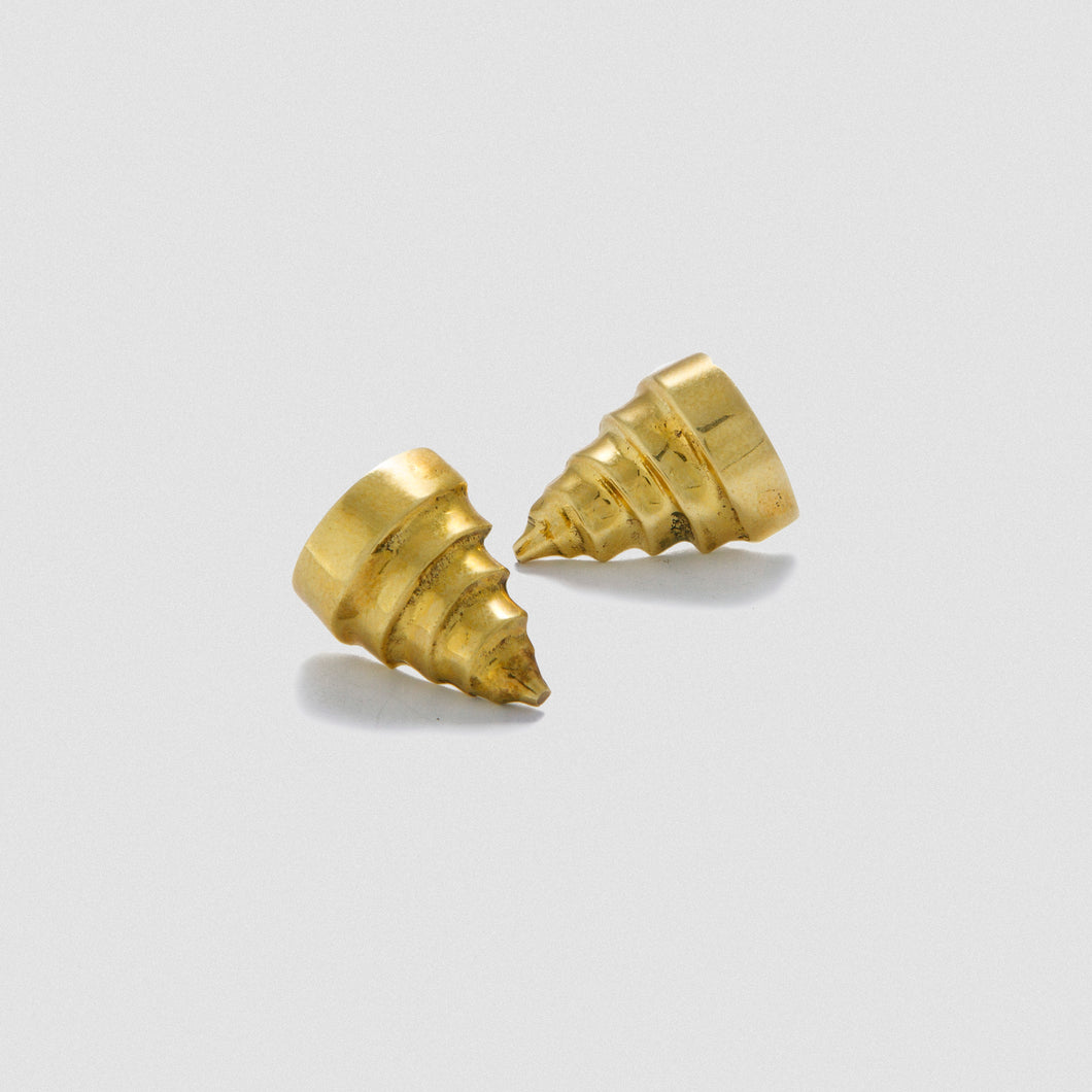 Babel earrings - Bronze