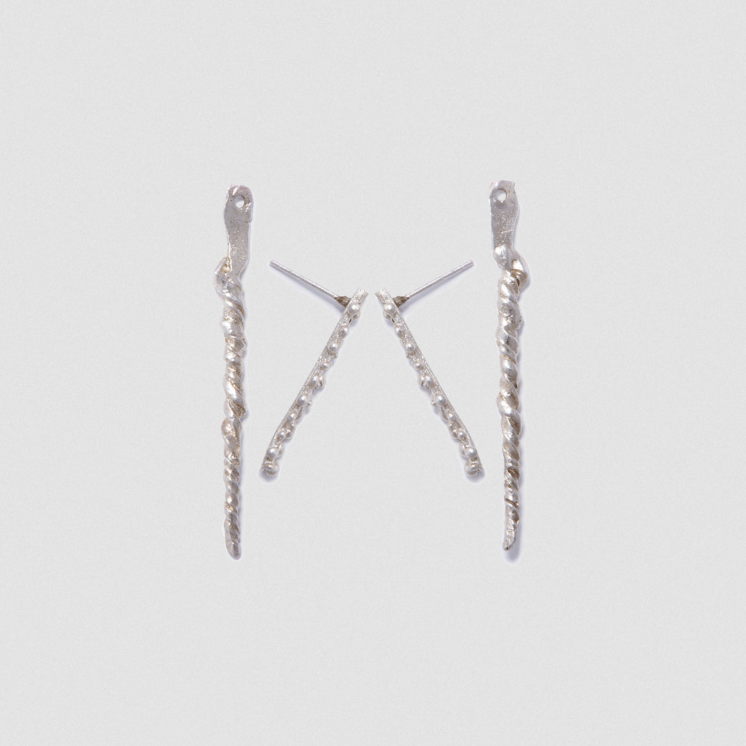 Seeds earjacket - Sterling Silver
