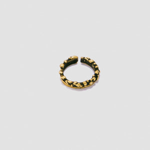 Midi ring/earring - Bronze