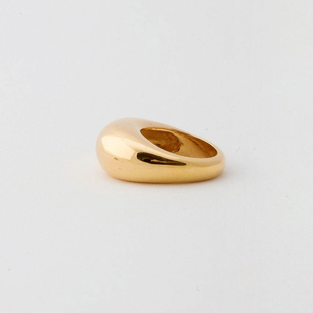 Fancy Lady ring - Gold Plate Bronze
