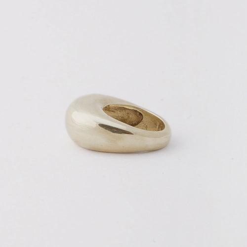 Fancy Lady ring - White Bronze