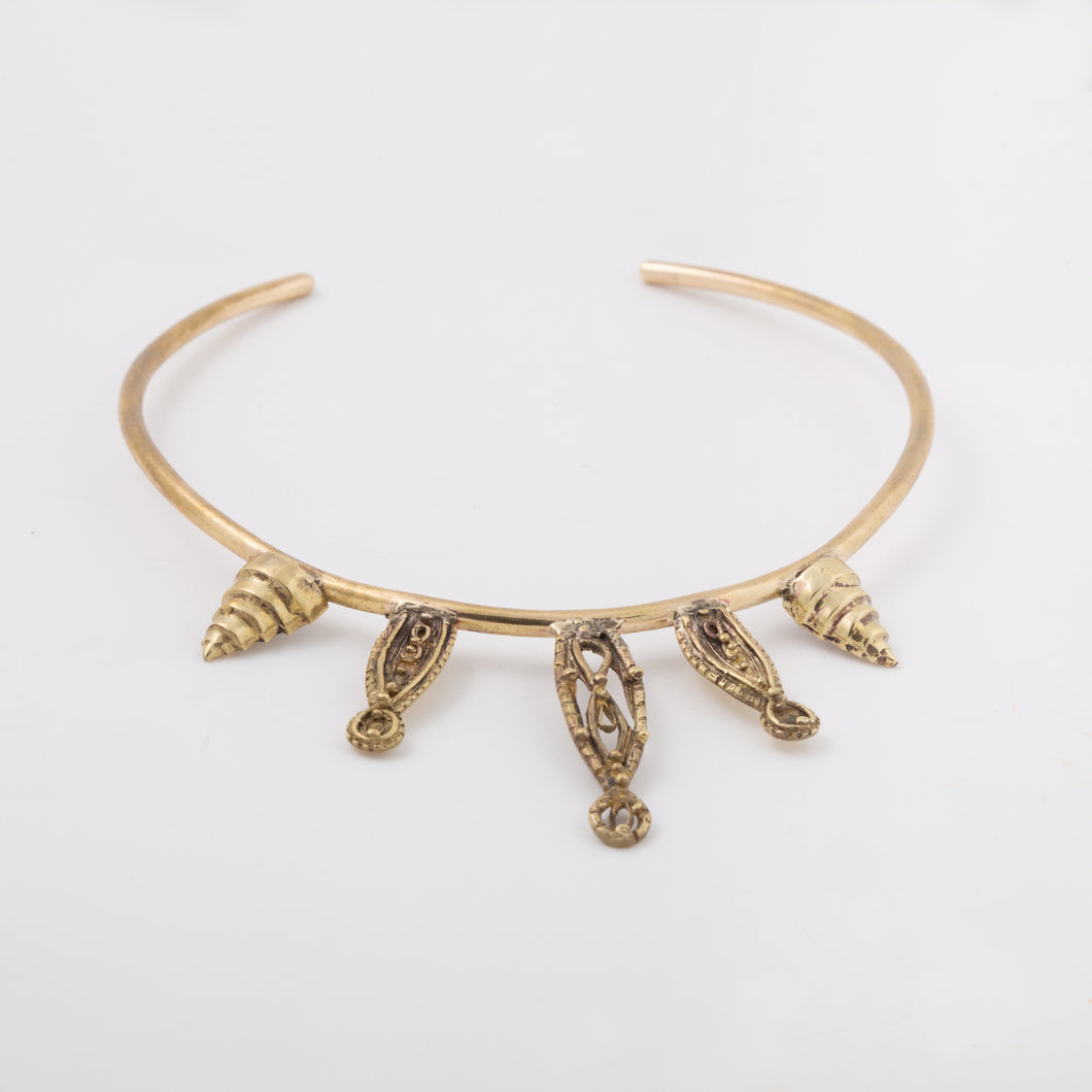 Goddess Empire choker - Bronze