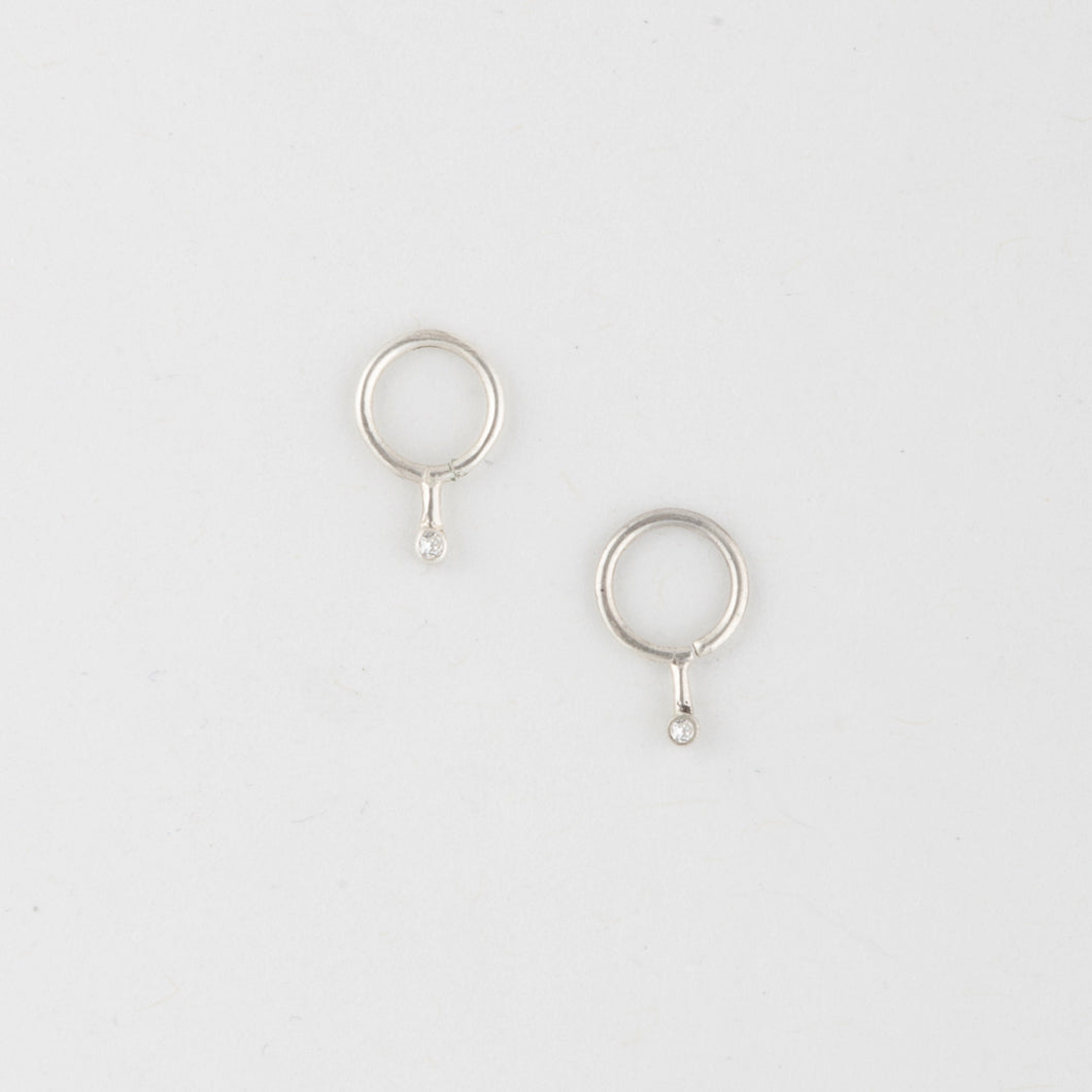 One Drop piercing - Sterling Silver