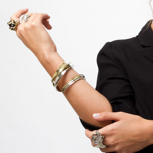 Wrap-around forearm cuff