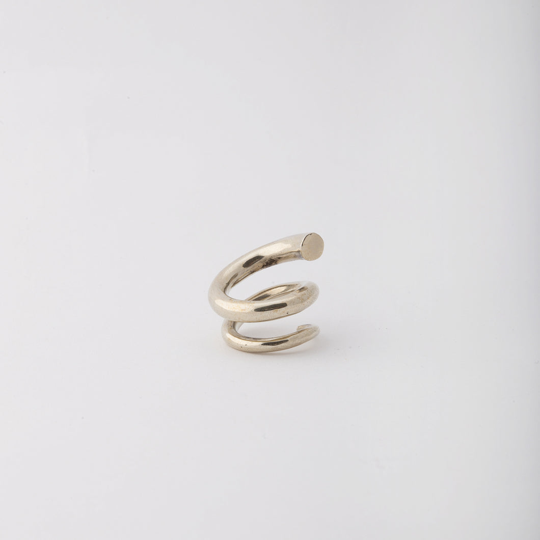 Wrapped-around my finger ring - Sterling Silver
