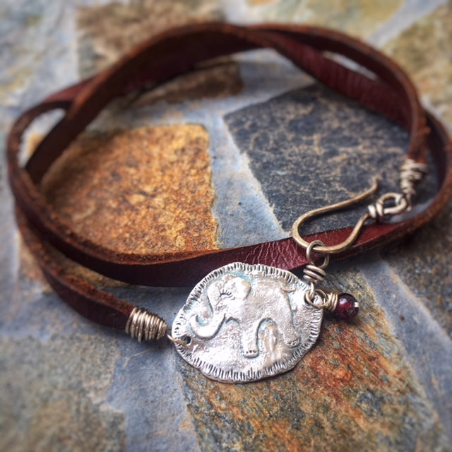 Leather Bracelet Design of the Month